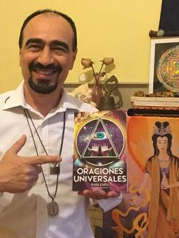 """presentación del libro de Ram Karv  """"Oraciones Universales"""""""