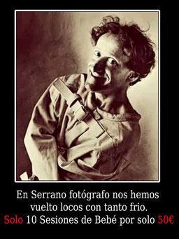 Oferta new born en Serrano Fotógrafo