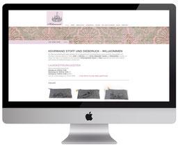 Webdesign von dickesdesign für Kehrwand Aarberg