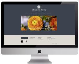 webdesign von dickesdesign für blumen bijou hinterkappelen