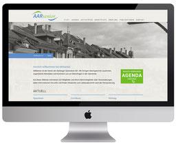 Webdesign von dickesdesign für Aarsenior Aarberg