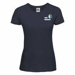 """Frontansicht - Damen T-Shirt """"Sport"""""""