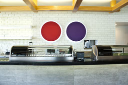 Magnifica fotografía de restaurantes, instalaciones de sushi-itto.