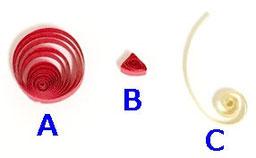 クイリングSTEP講座7 LEVEL2  バルーンパーツ画像