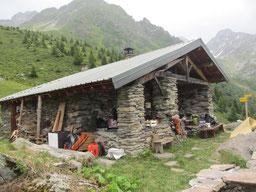 Belledonne, Fouetterie, Petite Valloire, cabane, Haut-Bréda