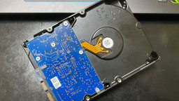 ハードディスク(HDD)の不具合