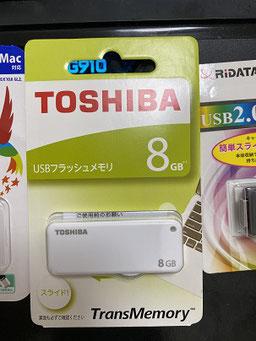 TOSHIBA UKB-2A008GW 8GB USB2.0