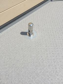 屋上防水改修工事(脱気筒)
