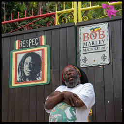 Zuhause bei Bob Marley