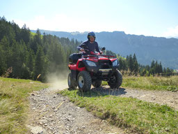 ATV tours on Kymco quads!