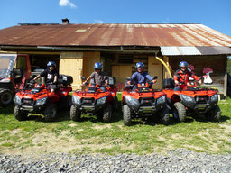 Choose an ATV Tour in Interlaken!