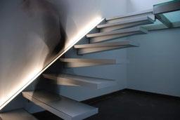 zwevende trap Solitaire van Graah