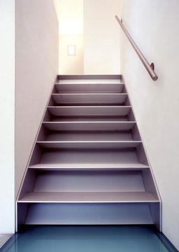 gesloten trap bij Graah