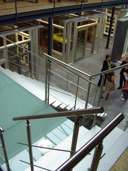 brede trap Triangle van Graah