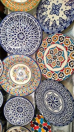 モロッコお勧めお土産/フェズ陶器/モロッコ青い街在住 日本人Mikaのブログ