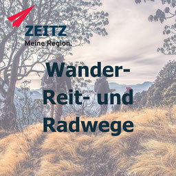 Wanderwege Reitwege und Radwege in Zeitz und dem Burgenlandkreis. Elsterradweg, Radacht und mehr