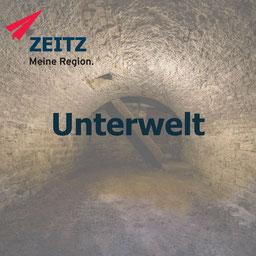 Zeitz Unterwelt, Unterirdisches Zeitz, Gewölbe, Burgenlandkreis