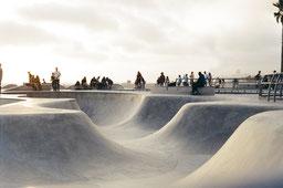 Skate parc béton