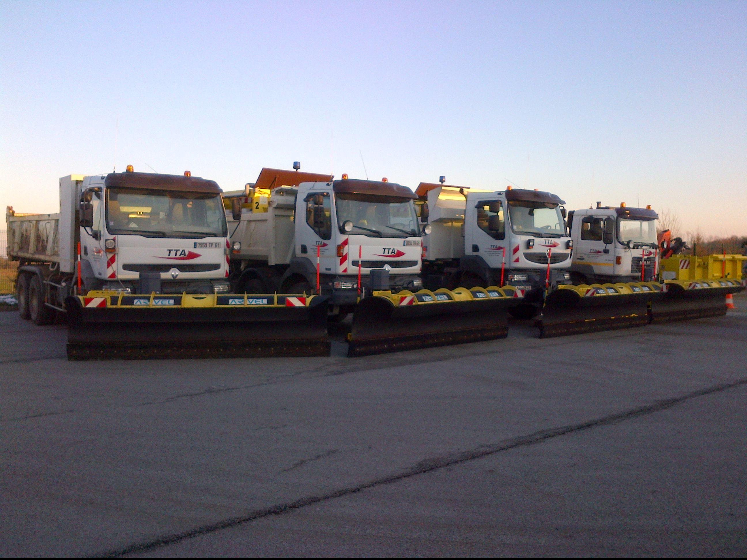 Camions deneigement - TTA