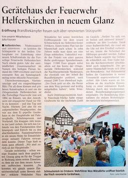 Westerwälder Zeitung, Ausgabe vom 12.07.2016