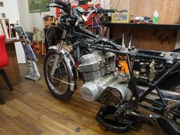 CB750 エンジンオーバーホール 旧車
