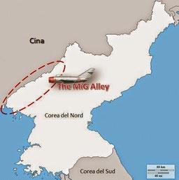 """Jet in Corea: la """"MiG Alley"""" (Cap. 1) - La comparsa dei MiG- 15."""