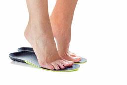 Behandlung von Fußerkranungen