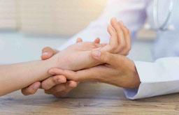 Behandlung von Handerkrankungen