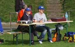 Die Scorer-Crew