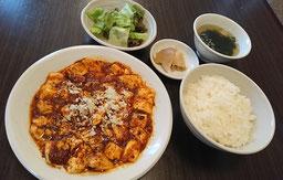 A:牛すじ辛味噌煮込み定食