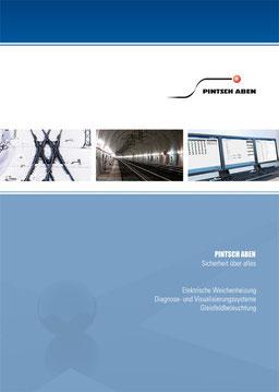 Broschüre Pintsch Aben nach vorhandenem Corporate Design