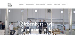 Zirbenbett, Zirbenholzbett, Zirbenholz Bett, Vorarlberg, Die Koje Bludenz