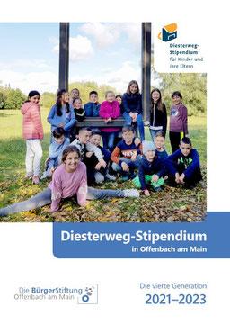 Die Titelseite der neuen Broschüre für das Diesterweg-Stipendium
