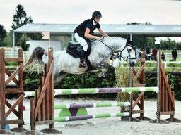 Du vent dans les chevaux, équipe compétition en  CSO