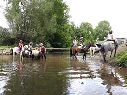 Equitation d'extérieur à proximité de Montbard et Semur en Auxois