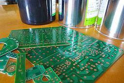 熱硬化型レジストインク対応のプリント配線基板製造が得意