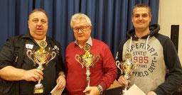 EM 2020 Sieger Herren Thomas Nitschke (2.); Wolfgang Münzenberg (1.); Carsten Mol (3.)