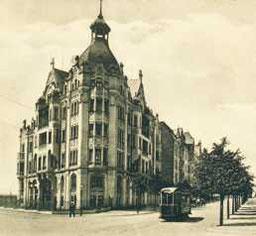 Neundorfer Straße 41, historische Postkartenansicht