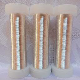 Silberdraht silber, Silberdraht echt versilbert, Silberdraht in verschiedenen Stärken, Silberdraht zur Herstellung von Schmuck, Silberdraht zur Herstellung von Klosterarbeiten,