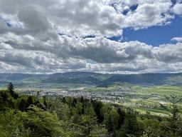 Blick über das Delsberg-Becken