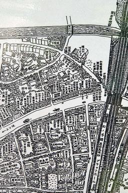 戦前、昭和10年代の高田馬場駅周辺地図を発見!
