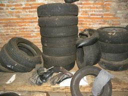 Valorisation et transformation des pneux
