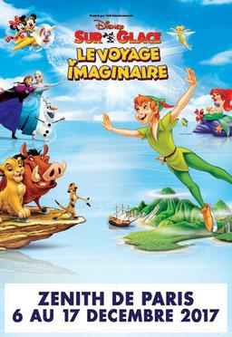 Disney sur glace 2017 au zénith de PARIS en décembre Spectacles de noël