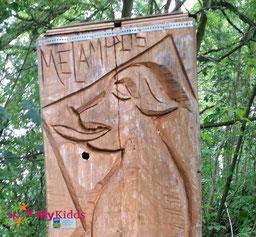 Spur des Melampus Heppenheim