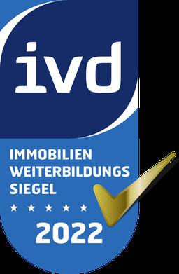 IVD Immobilien-Fortbildunges-Zertifikat für VERDE Immobilien