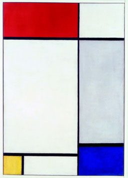 Composition with Red, Yellow and Blue, 1927