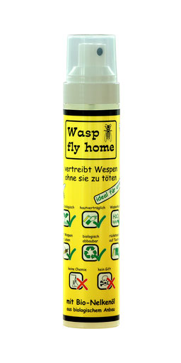 Wasp fly home Spayflasche biologisches Wespenspray
