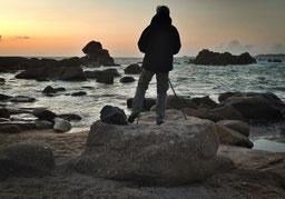 Einmalige Felsenküste am Phare de Ploumanac'h