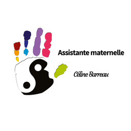 Création du logo personnalisé pour l'assistante maternelle Céline Barreau par Cloé Perrotin