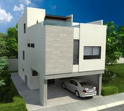 casa modelo Loira 2g Katavia Residencial, rinconada colonial apodaca